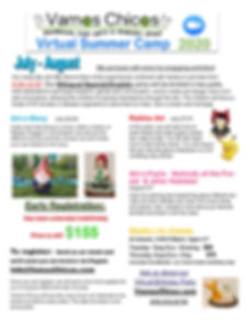 july- august brochure for virtual camp e