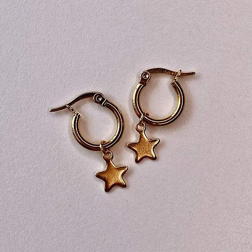 Mini Hoops de estrella