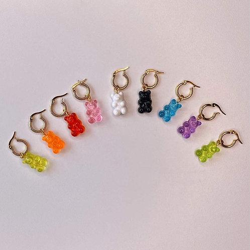 Mini Hoops Gummy Bears