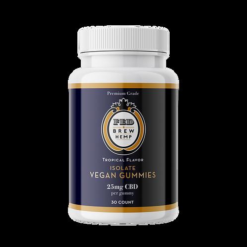 Vegan CBD Gummies (25 mg/30 ct)