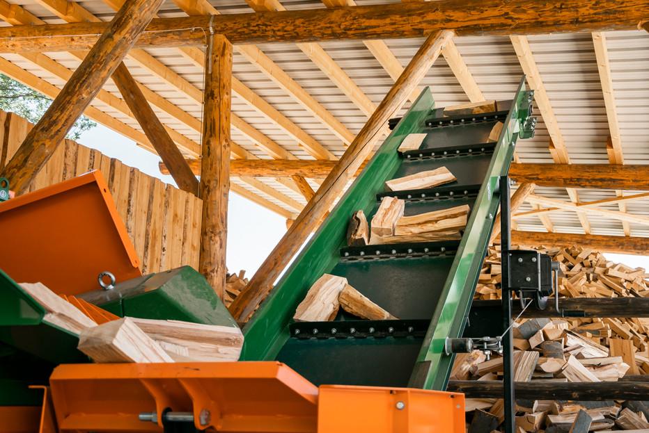 Holzförderung