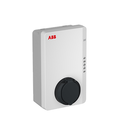 ABB Wallbox AC wallbox type 2, cable 5m, single phase/32A, with RFID