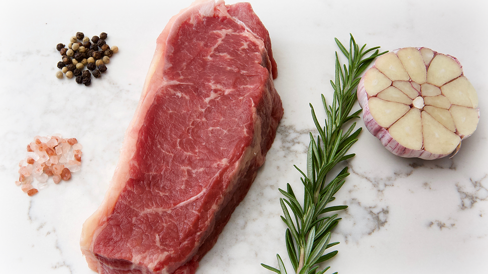 Thick Cut New York Steak  (1 kg) approx 3 per kilo