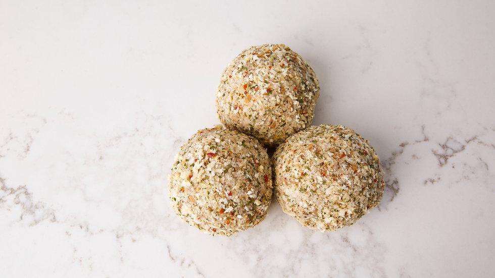 Beef Rissoles herb and garlic approx 4 per kilo