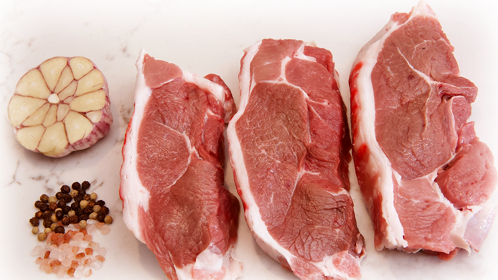Lamb Rump Steak  (1kg)4 x 250 Gm