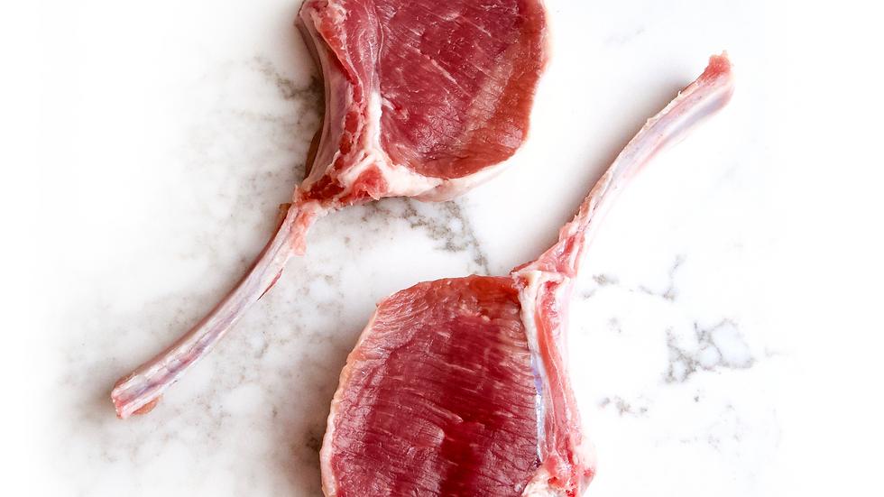 Lamb Cutlets  (1kg) approx 8