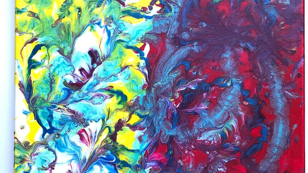"""Fairy War"" 11x14 Canvas"