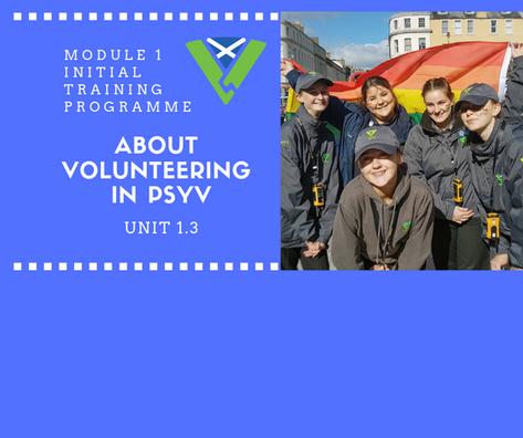 About Volunteering in PSYV
