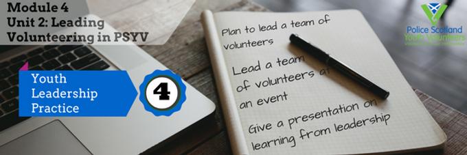 Leading Volunteering in PSYV