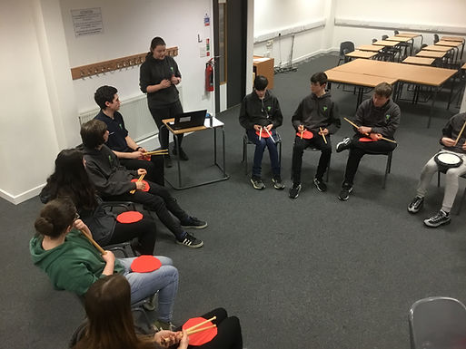Improving Health and Well-being through Therapeutic Drumming by Charlie Stirling