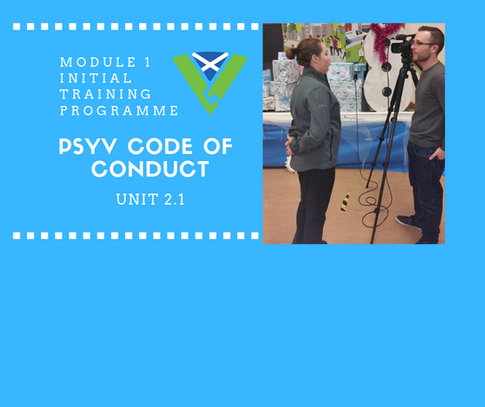 PSYV Code of Conduct