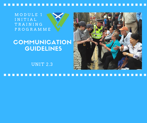 Communication Guidelines