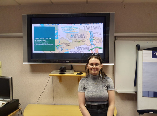 Baby Box from Scotland to Malawi and Zambia by Sophie Downes