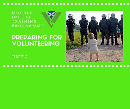 Preparing for Volunteering