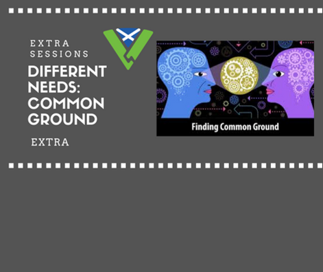 Different Needs Common Ground