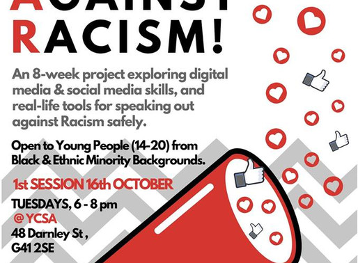 Speak Out Against Racism - Glasgow South