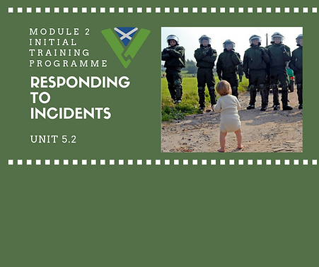 Responding to Incidents