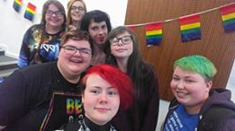 LGBT Youth Dundee: learning to overcome anxiety through working in partnership