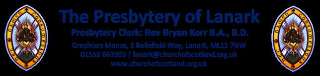 Presbytery of Lanark