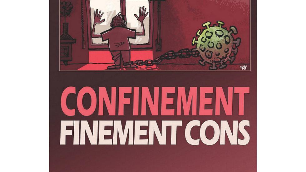 "Album caricatures et dessins de Presse ""Con-Finement"""
