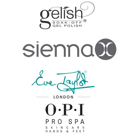 Brands avalible in the salon.