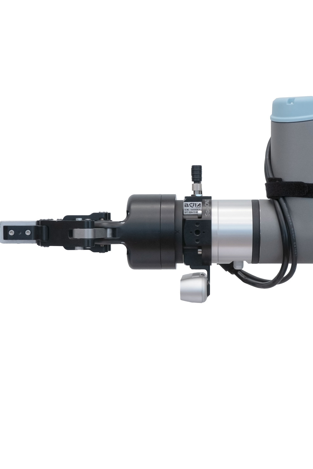 The SensONE force torque sensor by Bota Systems applied a robot