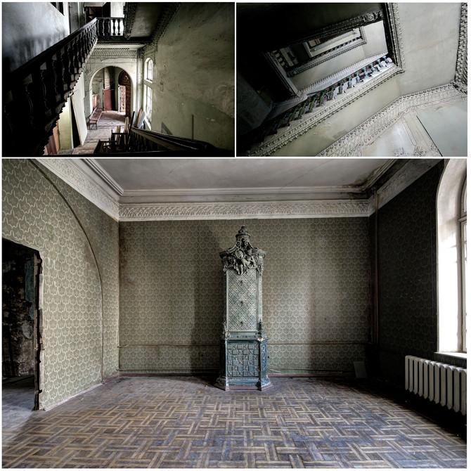 Abandoned mansion in Kiev, Ukraine