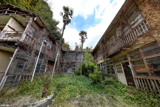 Abandoned Hiroshima Hospital