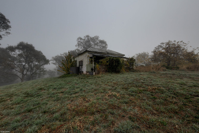 Abandoned Australian bush shack
