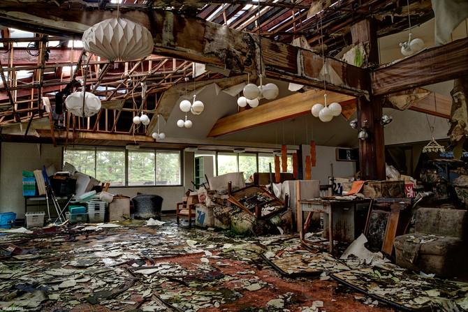 Abandoned Restaurant, Mount Asama