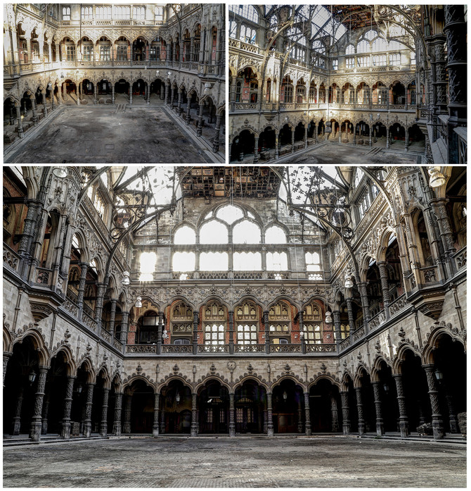 Abandoned Stock Exchange - Belgium