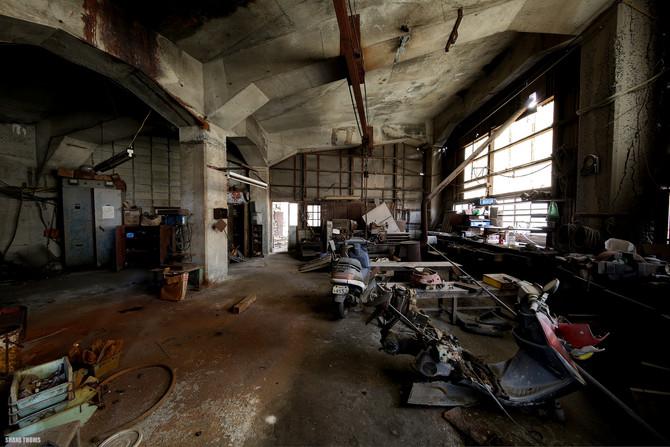 Disused Nagasaki Coal Mine