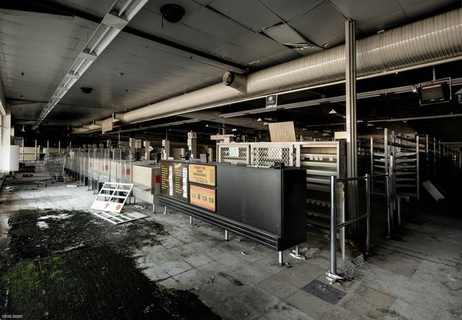 Abandoned Coles Supermarket