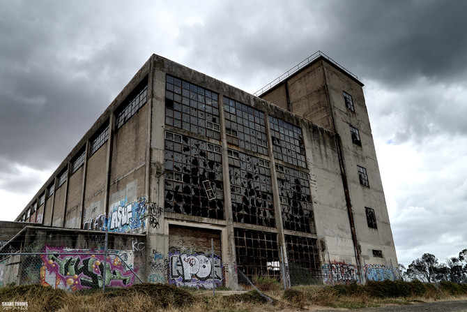 Really pretty abandoned power station