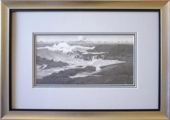 "Richardson Beach (6""x12"")"