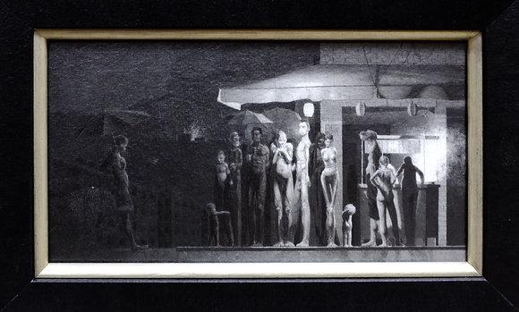 Nocturne (8.25x12in. Framed)