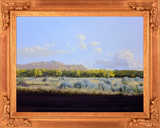 """Sandia Mountains - by: Nathan Mellott (24""""x36"""")"""