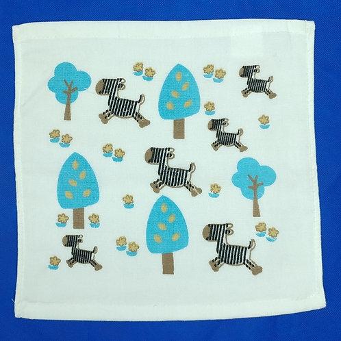 竹纖維紗面方巾