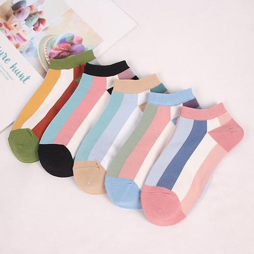 竹纖維女仕船襪(2双)Bamboo Women Sneaker Sock(2pairs)