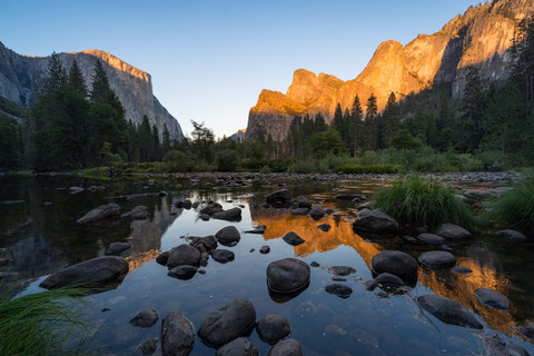 Spiegelung des Yosemite Nationalparks