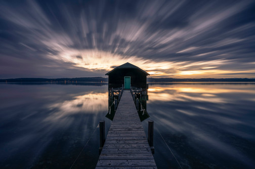 Morgens am Starnberger See