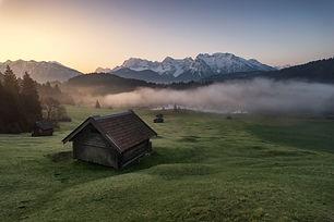 Morgenstimmung am Geroldsee