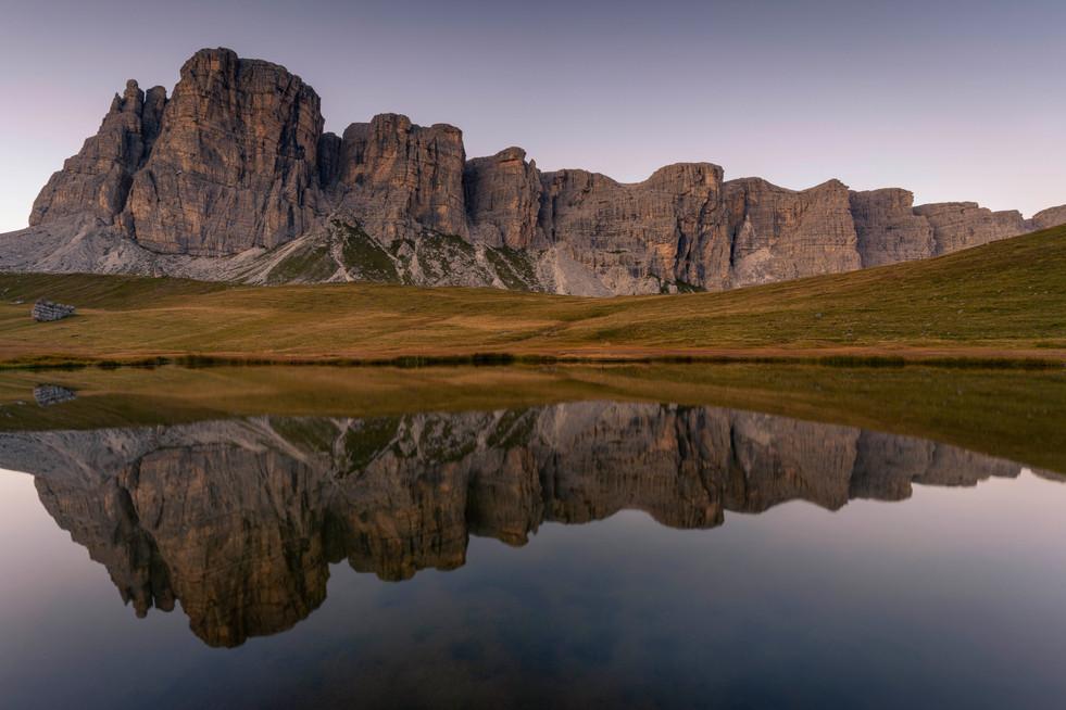 Reflections of Dolomites