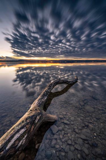 Wolkendynamik am Ammersee