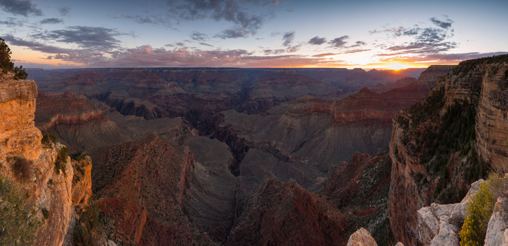 Panorma des Grand Canyon