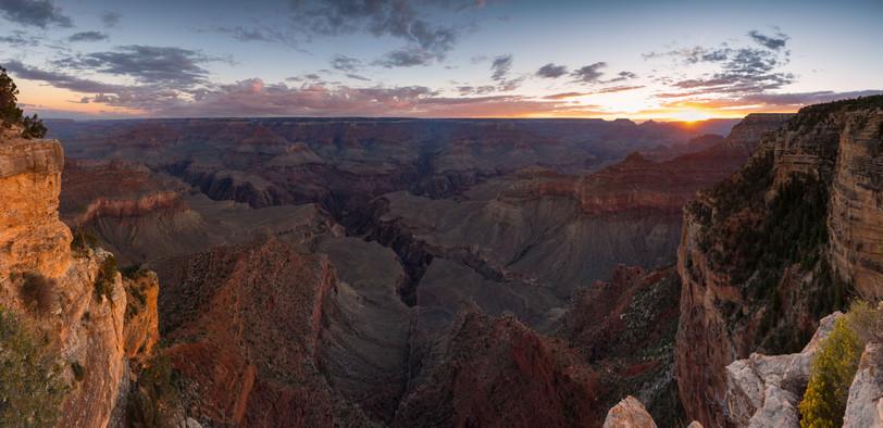 Panorma des Grand Canyon