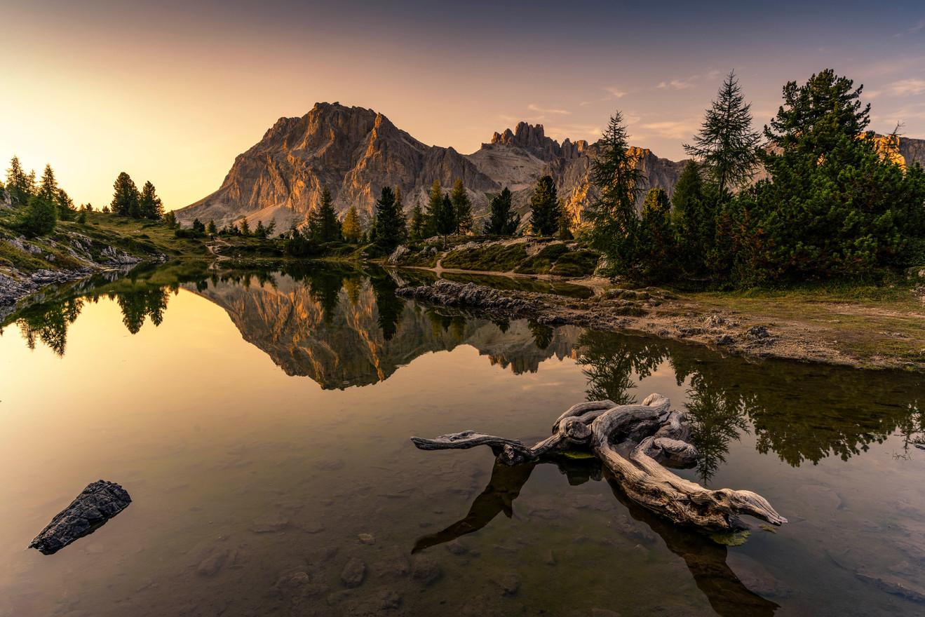 Golden Light / Lago Limides