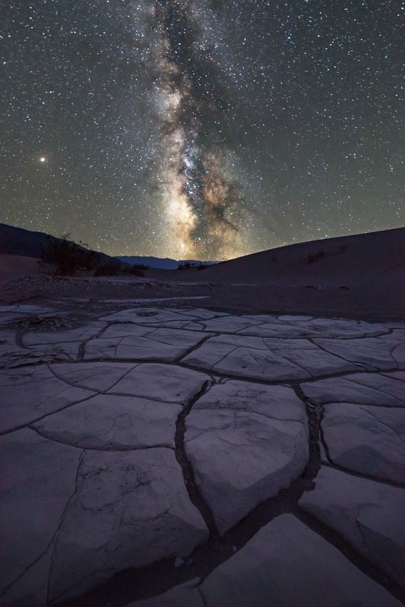 Sternenstunde über dem Death Valley