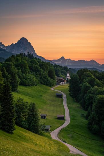 Abendlicht am Wamberg