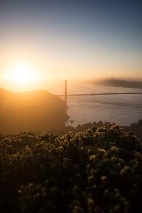 Golden Gate Lightbeam